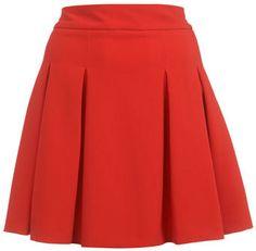 #missselfridge.com        #Skirt                    #Pleat #Detail #Skater #Skirt #Skirts #Apparel      Red Pleat Detail Skater Skirt - Skirts - Apparel                              http://www.seapai.com/product.aspx?PID=1064377