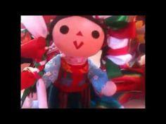 Como hacer una muñequita artesanal 2da. parte/Hecho a mano - YouTube