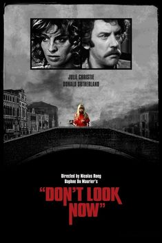 Don't Look Now (1973) // Some people consider this a horror film, but I consider it suspense. A couple in Venice get told that it is dangerous for them to stay in the city. Nothing is clear until the end. The love scene is famous for being kind of explicit, but it is also notably loving and done to beautiful music. I think men and women may view it differently. The ending is SO fucking powerful.