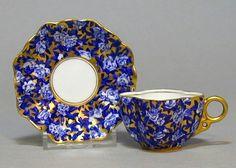 Coalport Demitasse Cup and Saucer 1900 Cup And Saucer Set, Tea Cup Saucer, Tea And Crumpets, Teapots And Cups, Teacups, Antique Tea Cups, China Tea Cups, Tea Service, Coffee Set