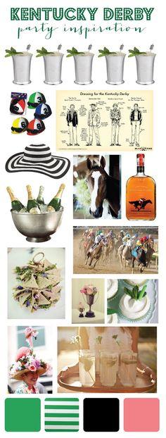 mint love social club: {kentucky derby party inspiration}