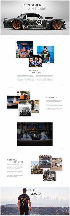 Web design layout inspiration | landing page | Kenblock