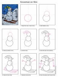 snowman art projects - Google Search