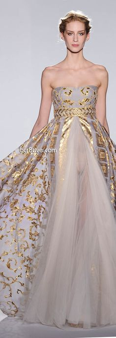 Zuhair Murad Spring Summer 2013 Haute Couture Collection | bcr8tive
