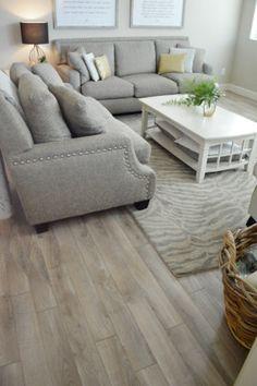 living room driftwood flooring