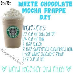 White Chocolate Mocha Frappe