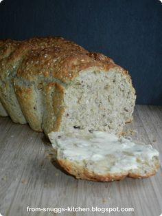 Haferflockenbrot, Brot mit Haferflocken und Buttermilch
