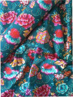 Tecido Adesivo  Floral