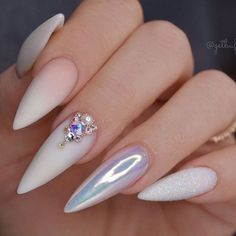 Sexuality Acrylic Stiletto Nails In Summer 2019 - Nail Art Connect # Stilettona . - Sexuality Acrylic Stiletto Nails In Summer 2019 – Nail Art Connect # Stilettonails … – Sexual - Almond Acrylic Nails, Best Acrylic Nails, Acrylic Nail Designs, Long Almond Nails, Acrylic Nails Stiletto, Acrylic Art, Glam Nails, Fancy Nails, My Nails