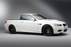 one-off E92 M3 pickup built by BMW