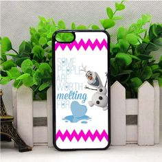 OLAF DISNEY FROZEN QUOTE IPOD TOUCH 6