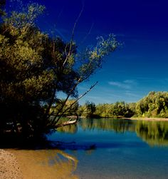 River beach Sip near Legrad - the favourite place for walks and summer bathing:)