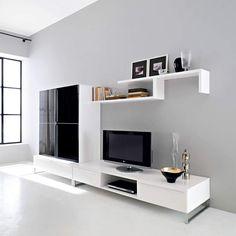 Bedroom Tv Cabinet, Tv Unit Bedroom, Living Room Tv Cabinet, Modern Tv Room, Modern Tv Wall Units, Front Room Design, Tv Wall Design, Tv Wall Cabinets, Tv Unit Furniture