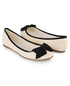 Bow Trimmed Ballet Flats | FOREVER21 - 2000041175