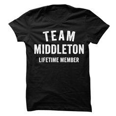 MIDDLETON TEAM LIFETIME MEMBER FAMILY NAME LASTNAME T-SHIRT