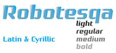 Robotesqa 4F font by 4th February – scoring a high score