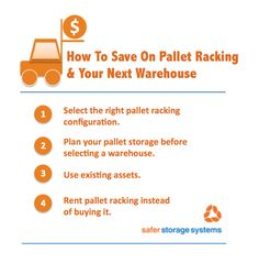 4 tips for saving money on your pallet racking