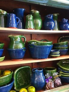 www.rustonline.com.au - SOLD - #rustic #interior #homewares #interiorstyle #furniture #homedecor #kitchenware #green #blue #ceramics #jugs #bowls #plates #mugs #teamug #countryhome #countrystyle