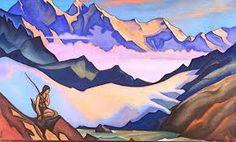 Snow Maiden - Nicholas Roerich - 1947 – My Paint by Numbers Nicholas Roerich, Snow Maiden, Creative Activities, Paint Set, Paint By Number, Diy Painting, Landscape Paintings, Landscapes, Original Artwork