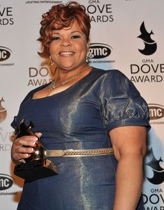 Tamela Mann Pictures 42nd Annual GMA Dove Awards - Press Room -