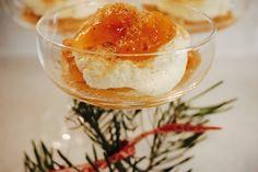 Hva med en deilig julevariant av tilslørte bondepiker? Med deilig mascarponekrem, multer og pepperkake.