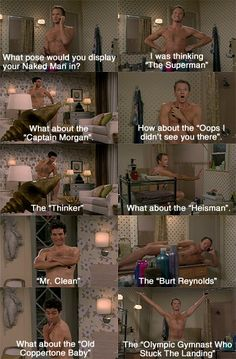 #HIMYM The Naked Man