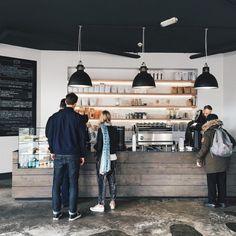 """Espresso bar at @establishedcoffee in Belfast - image @kelseyzahn (@hicky29 )…"