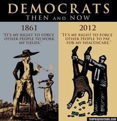 Democrats - Then & Now. Not much has changed. They are still assholes! Liberal Hypocrisy, Liberal Logic, Socialism, Truth Hurts, It Hurts, Hard Truth, Patriotic Words, Political Quotes, Political Views