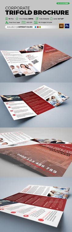 Medical Trifold Brochure Template Template, Medical and Flyers - flyers and brochures templates