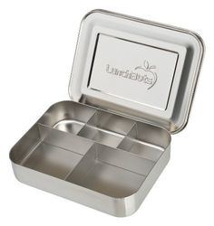 #LunchBots Bento Cinco Stainless Steel Food Containers are 60% larger than our classic containers. They have five handy compartments for easily packing a protein...