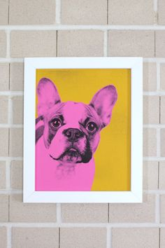 Pop Art Pet Portrais— Inspired by Andy Warhol and easy to make -- only a copy machine needed, really.