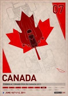Formula 1 Poster Series - Canada