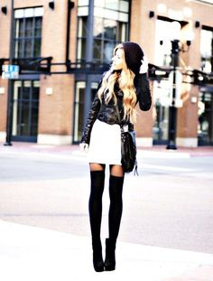 black stocking look - Google Search