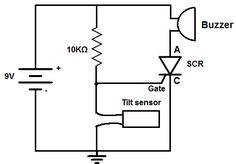 Electronics Basics, Electronics Projects, Buzzer, Circuits, Tilt, Electric, Free