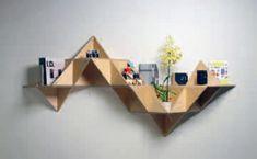 Dreiecksregal , gratis Bauanleitung für ein Regal