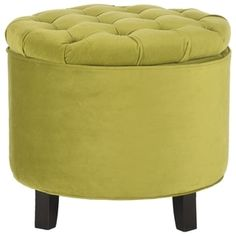 Shop for Safavieh Amelia Asparagus Tufted Storage Ottoman. Get free shipping at Overstock.com - Your Online Furniture Outlet Store! Get 5% in rewards with Club O!