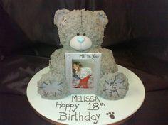 Bolos decorados do Urso Me to you - http://www.boloaniversario.com/bolos-decorados-do-urso-me-to-you/