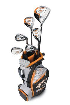 3409e0de23f Callaway Boys XJ Hot Junior Complete Golf Club Sets Callaway Golf