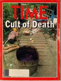 """The """"Death Tape"""" – Alternative Considerations of Jonestown & Peoples Temple Jonestown Massacre, Time News, Newspaper Headlines, Foto Real, Time Magazine, Magazine Covers, Thing 1, Thats The Way, Criminal Minds"""