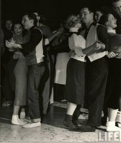 Sock Hop. we had to take off our shoes so they wouldn't damage the gymnasium floor