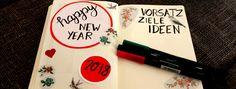 Bullet Journal - Happy New Year - Inspirationen - handlettering