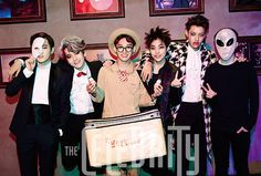 SM Town - SM Town Halloween Party, The Celebrity Magazine December Issue '14