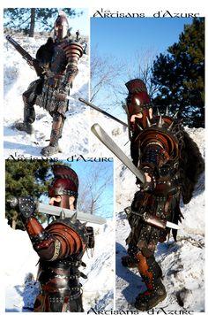 Legion Warlord by ArtisansdAzure.deviantart.com on @deviantART