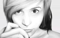 My First Photo-realism Digital Portrait