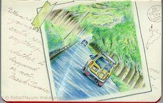 https://flic.kr/p/shJjbL   2014_05_18_makino_02_s   マキノ高原のメタセコイア並木 for this drawing I used : Faber castell polychromos Holbein artists colored pencils Moleskine sketchbook © Belta(Mayumi Wakabayashi)