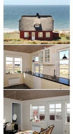 Holidays in Denmark: My favorite holiday homes in Blåvand and .-Urlaub in Dänemark: Meine Lieblingsferienhäuser in Blåvand und am… Amalie loves Denmark similar projects and ideas as presented in the picture can also be found in our magazine - Travel To Do, Places To Travel, Places To Go, Travel Around The World, Around The Worlds, Land Scape, Villas, The Good Place, Beautiful Places