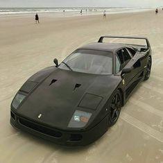 Ferrari F40 on Daytona Beach