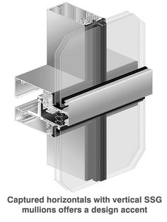 Ultra Thermal Pre-glazed Insulated Curtain Wall System, 2500 UT Unitwall™ System