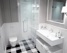 Łazienka styl Skandynawski - zdjęcie od DOMagała Design