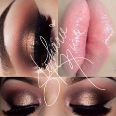 Too Faced Chocolate Bar Palette✨Details✨ -Crease: Strawberry Bon Bon as transition color with Salted Caramel & Semi-Sweet -Inner Lid: Amaretto -Tear Duct: Marzipan -Mid Lid: Creme Brule -Outer Lid: Amaretto & Triple Fudge -Liner: Blacktrack (MAC) -Lashes: @flutterlashesinc Natalie -Lips: MAC Sweet & Sour lipstick with Florabundance lipglass